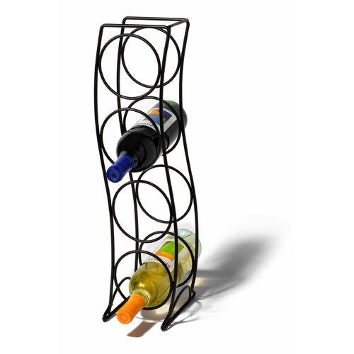 Spectrum Diversified Curve 4 Bottle Wine Rack