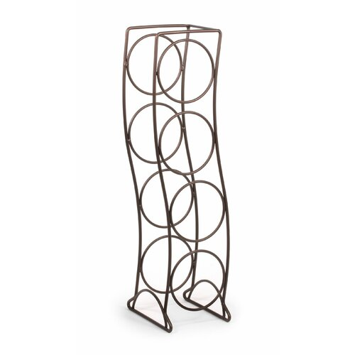 Spectrum Diversified Curve 4 Bottle Wine Rack