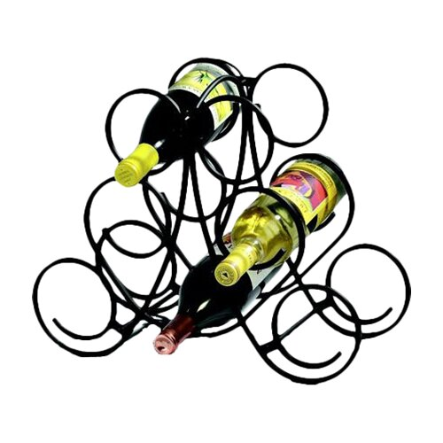 Bordeaux 7 Bottle Tabletop Wine Rack
