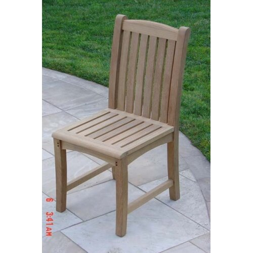 Royal Teak by Lanza Products Teakwood Compton Dining Side Chair