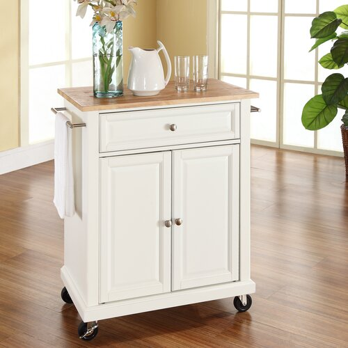 Portable Kitchen Island Style: Crosley Kitchen Cart & Reviews