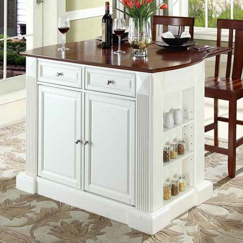 Crosley Kitchen Island: Crosley Coventry Kitchen Island Set & Reviews
