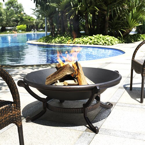 Crosley Outdoor Cast Iron Fire Pit