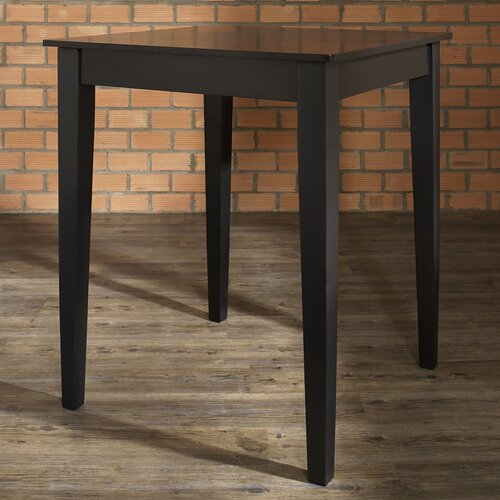 Tapered Leg Counter Height Pub Table