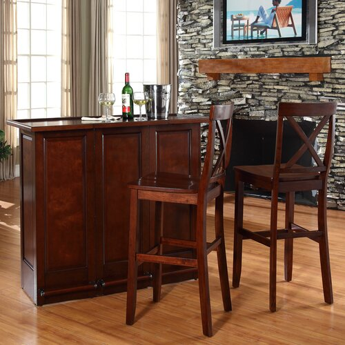 Crosley Home Bar Set