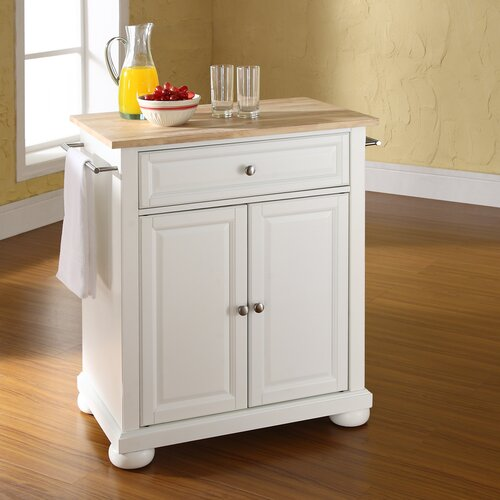 crosley alexandria kitchen island amp reviews wayfair