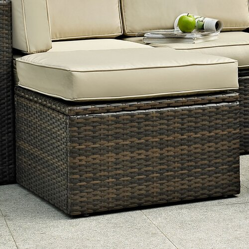 Palm Harbor Ottoman with Cushion
