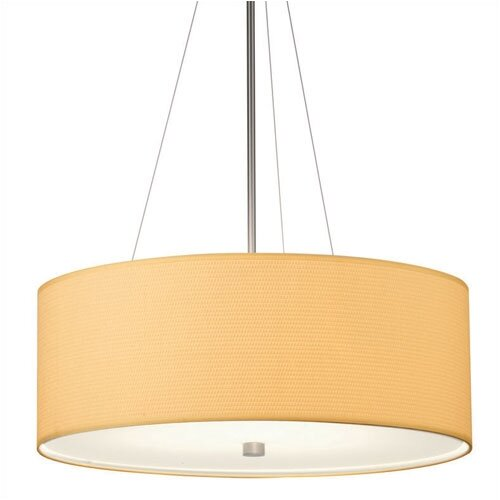 "Philips Forecast Lighting 24"" Organic Modern Round Pendant Shade"