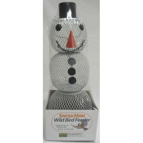 Sweet Corn Products Llc No / No Snowman Decorative Bird Feeder