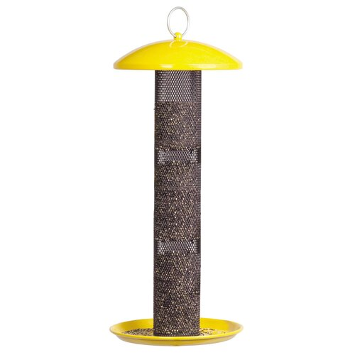 Sweet Corn Products Llc Yellow Straight Sided Finch Feeder