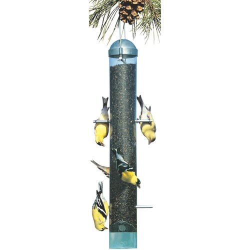 Deluxe Upside Down Nyjer/Thistle Bird Feeder