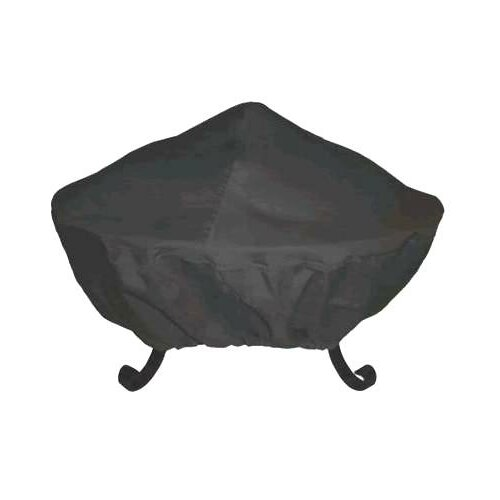 "Corral 35"" Tall Screen Vinyl Fire Pit Cover"
