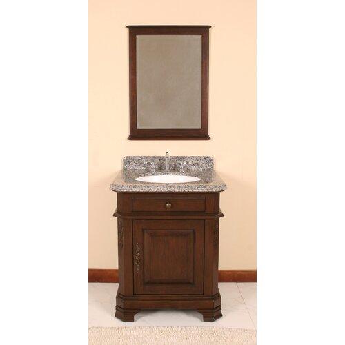 perkin 28 vanity set with backsplash and matching mirror wf6500