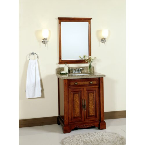 Lanza 28quot; Single Bathroom Vanity Set with Mirror amp; Reviews  Wayfair