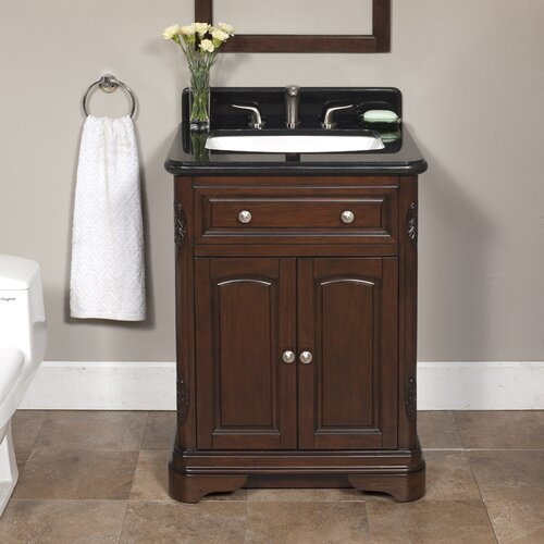 "Lanza Luton 26"" Vanity Set with Backsplash"