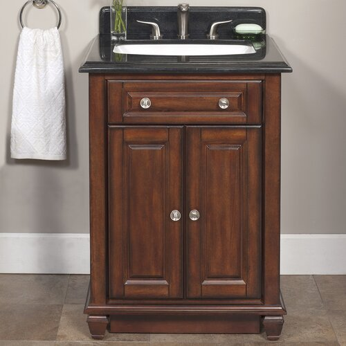 "Lanza Ely 26"" Vanity Set with Backsplash"