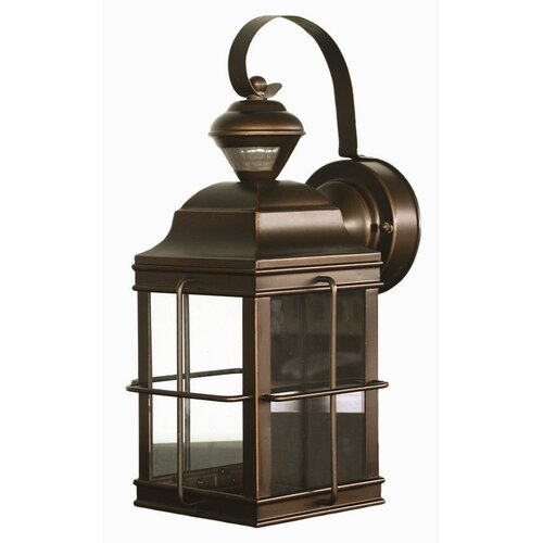 Heath-Zenith New England Carriage Style Motion Activated Security Light