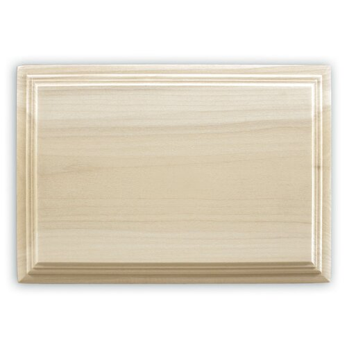 Wired Door Chime with Unfinished Solid Wood Cover