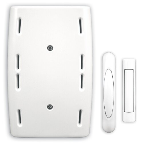 Heath-Zenith Wired Door Chime with Two Wireless Push Buttons