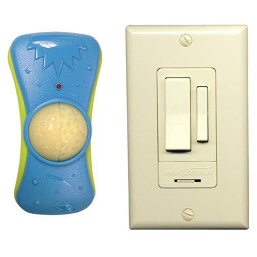 Heath-Zenith Wireless Command Child's Light Remote Control Wall Switch Set