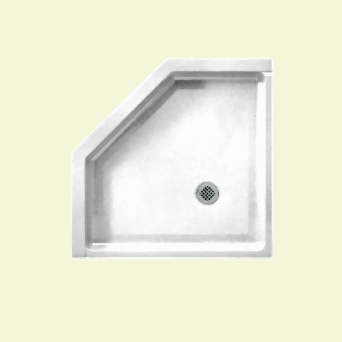 Swanstone Neo Angle Shower Base Reviews Wayfair Supply