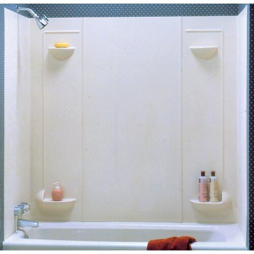 Swanstone Everyday Essentials Five Panel Veritek Tub Wall System