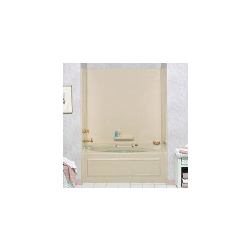 Swanstone Everyday Essentials Five Panel High Gloss Wall Kit for Whirlpool Tubs