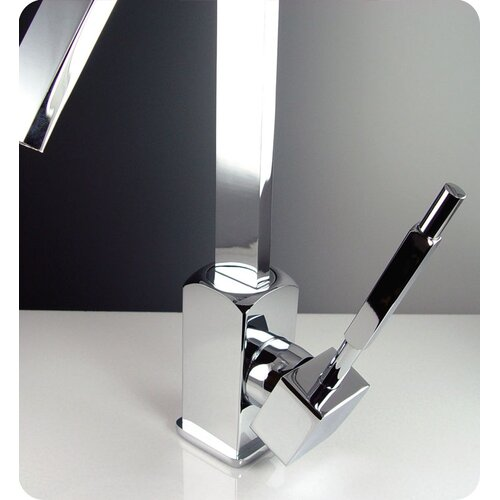 Fresca Liris Single Hole Bathroom Faucet with Single Handle
