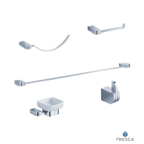 Fresca Solido 5 Piece Bathroom Hardware Set
