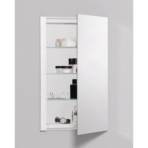 robern r3 series 20 x 26 recessed flat medicine cabinet rev