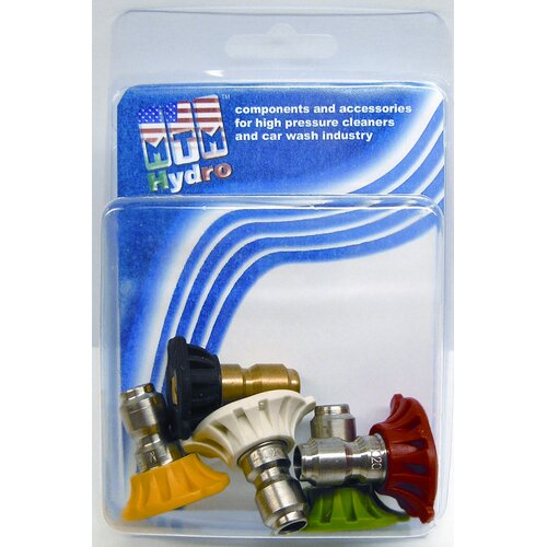 MTM Hydro 5 Piece 4000 PSI 3.0 Orifice Quick Connect Nozzle Set