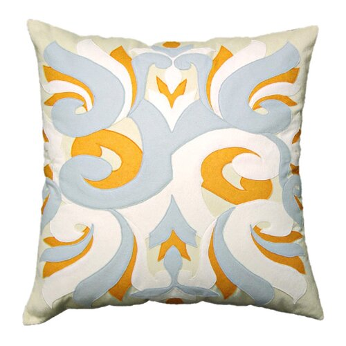 Wind and Water Square Pillow