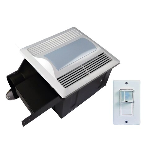 80 CFM Energy Star Bathroom Fan with Light