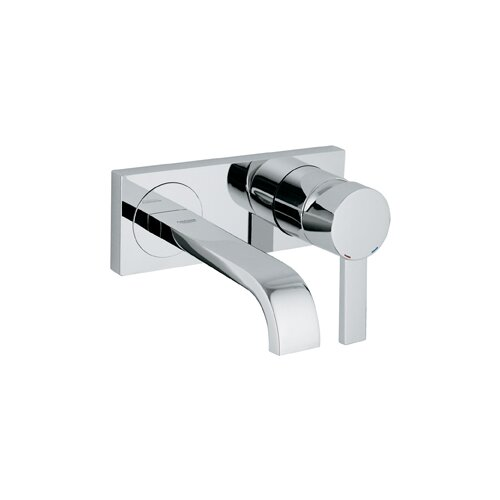 Grohe Allure Single Handle Wall Mounted Bathroom Faucet & Reviews ...