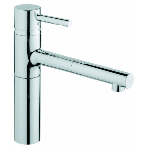 Essence Low Profile One Handle Single Hole Pull-Out Kitchen Faucet