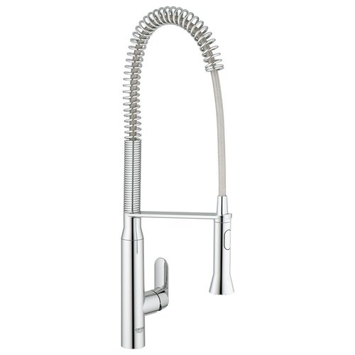 K7 Semi-Pro Single Handle Single Hole Bar Faucet with Watercare