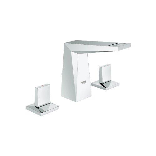 Allure Brilliant Double Handle Widespread Bathroom Faucet
