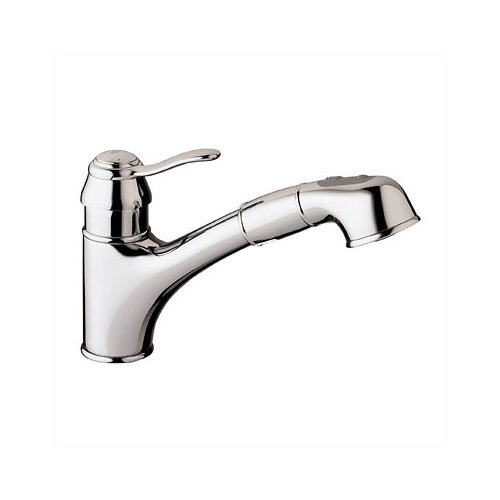 Ashford Pull Out Single Handle Single Hole Kitchen Faucet