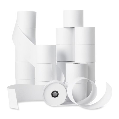 """Business Source Machine Roll, Single-Ply, 2-1/4""""x150', 100 Count, White"""