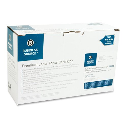 Business Source Toner Cartridge, 6000 Page Yield, Black
