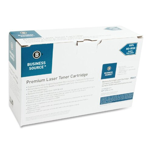 Business Source Toner Cartridge, 10,000 Page Yield, Black