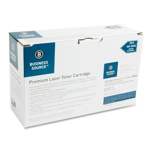 Business Source Toner Cartridge, 10000 Page Yield, Black