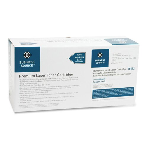 Business Source Fax Toner Cartridge, 4000 Page Yield, Black