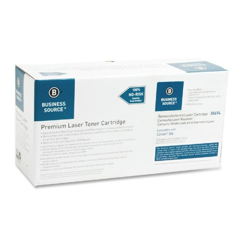 Business Source Toner Cartridge, 5000 Page Yield, Black