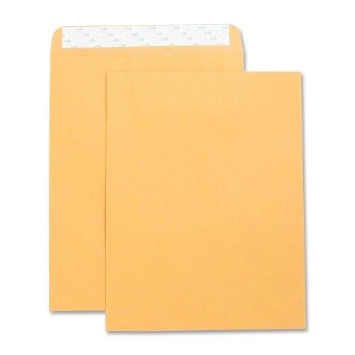 "Business Source Catalog Envelopes, Self Seal, Plain, 10""x13"", 250 per Box, Kraft"