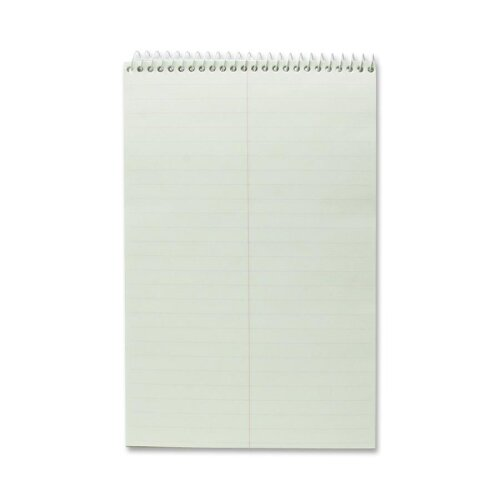 "Business Source Steno Notebook, Gregg Ruled, 60 Sheets, 6""x9"", Green"