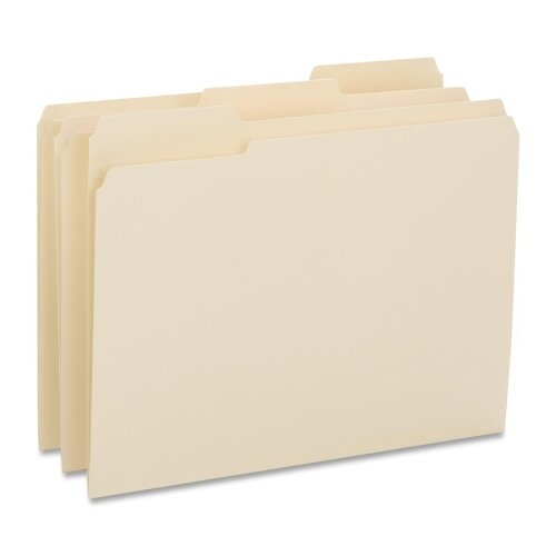 Business Source Top Tab Le File Folder (50 Per Box)