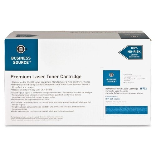 Business Source Remanufactured Laser Cartridge