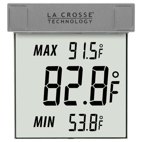 Wireless Weather Stations Window Thermometer