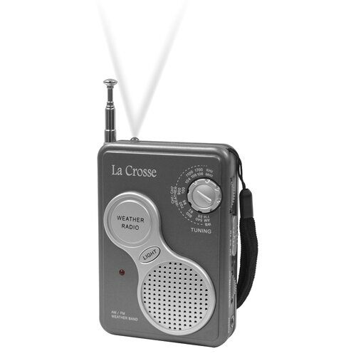 La Crosse Technology AM/FM Handheld NOAA Weather Radio